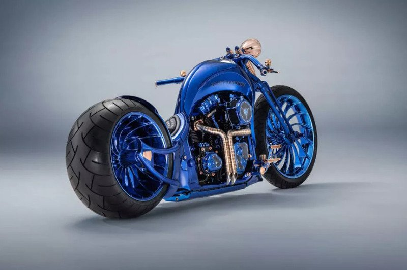 Blue Edition - Harley-Davidson Softail Slim S