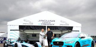 Глобальный дебют гоночного болида Jaguar I-PACE eTROPHY