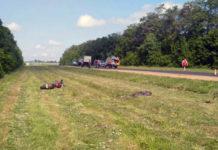 В Гродненской области насмерть разбился мотоциклист