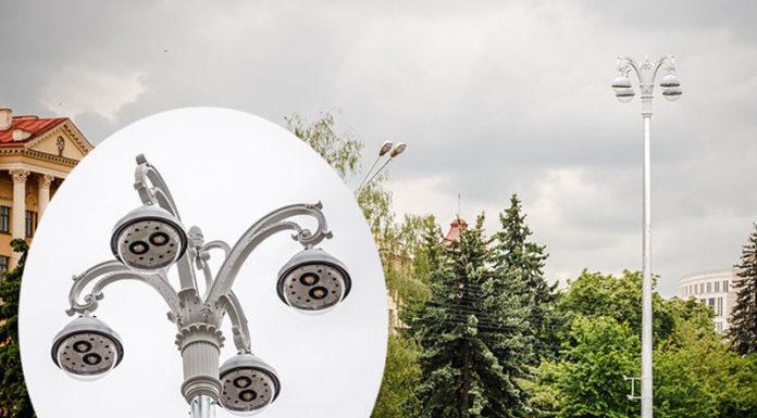 На проспекте Независимости в столице заменят фонари
