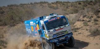 «КАМАЗ-мастер» выигрывает второй этап «Ралли Казахстана»