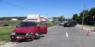 В Гомельской области в ДТП пострадала 2-летняя девочка