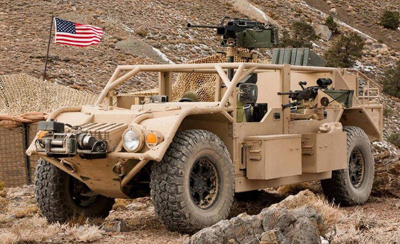 внедорожник GMV (Ground Mobility Vehicle)