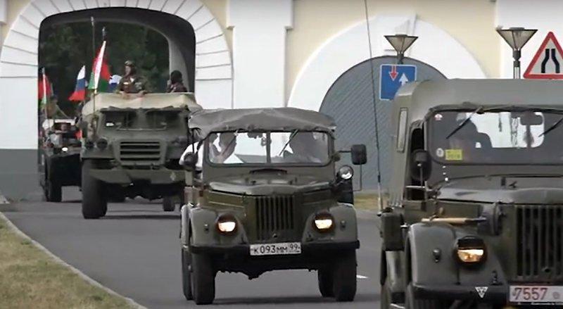 Бронепробег «Дорога Мужества» прибыл в Брест