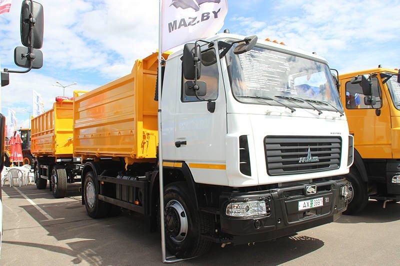 Новинка столичного автозавода МАЗ-555026-4585-000