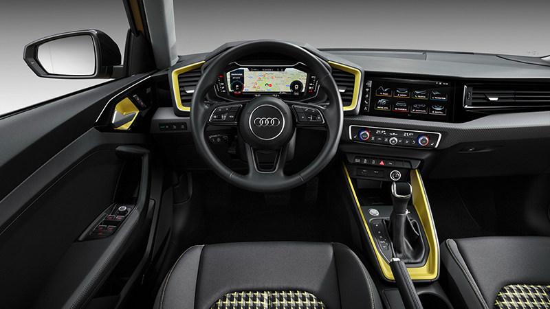 Компания Audi представляет второе поколение Audi A1 Sportback