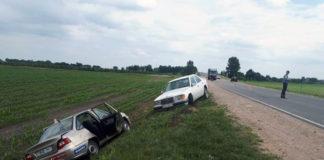 На автодороге Р-7 автомобиль бесправника столкнулся с учебной машиной