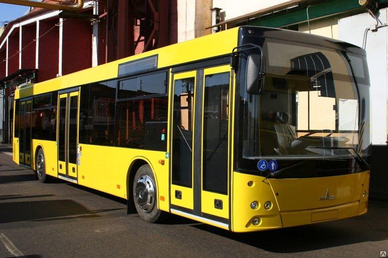 Городской автобус МАЗ 203069. МАЗ с кондиционерами