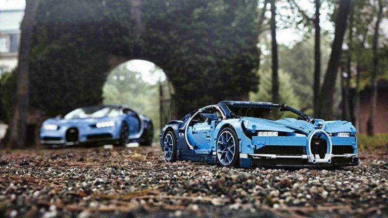 Bugatti Chiron от Lego
