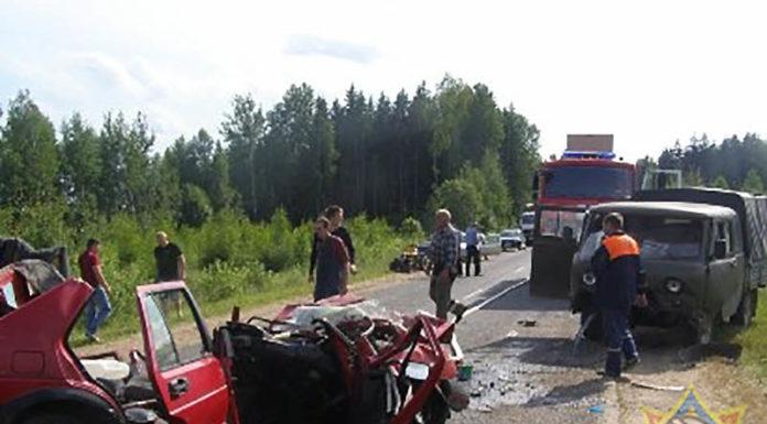 ДТП в Дрибинском районе