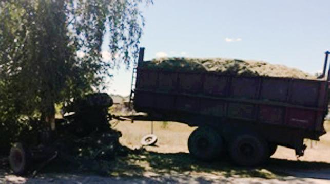 ДТП в Пинском районе: столкнулись трактор, МАЗ и гужевая повозка