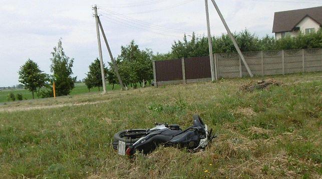 В Дзержинске столкнулись мотоцикл и ГАЗ: мотоциклист погиб