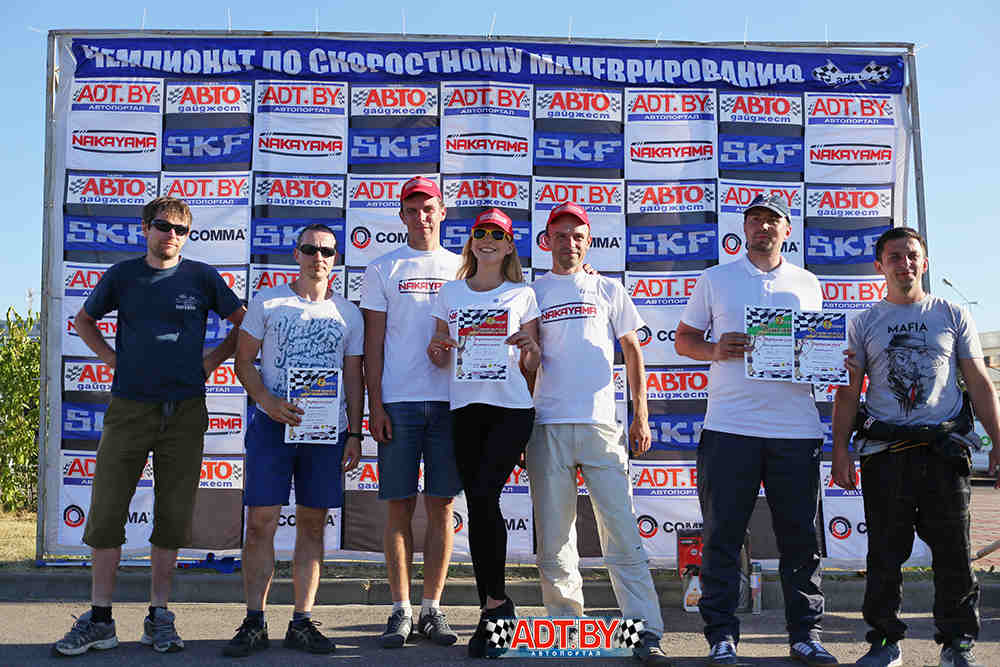 Кубок «Виртуозов руля» – 2018. 3-этап, Молодечно