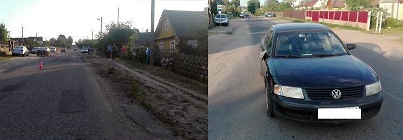Пьяный водитель совершил наезд на девочку в Новогрудке