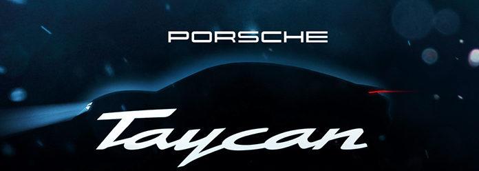 Первый серийный электромобиль Porsche будет называться Taycan