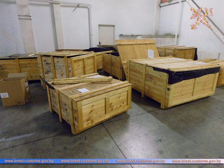 Дорогостоящее оборудование пытались незаконно ввезти на территорию ЕАЭС