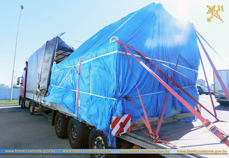 Российская фирма пыталась незаконно везти в ЕАЭС оборудование на Br120 тыс.