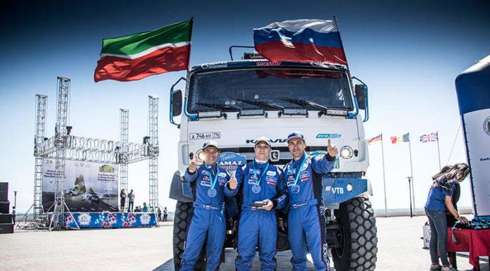 «КАМАЗ-мастер» побеждает в «Ралли Казахстан-2018»