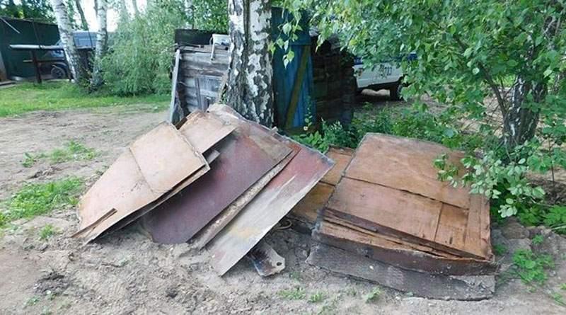 В садовом товариществе был украден гараж