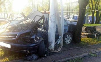 Нетрезвый водитель пытался скрыться от ГАИ и погиб в результате ДТП