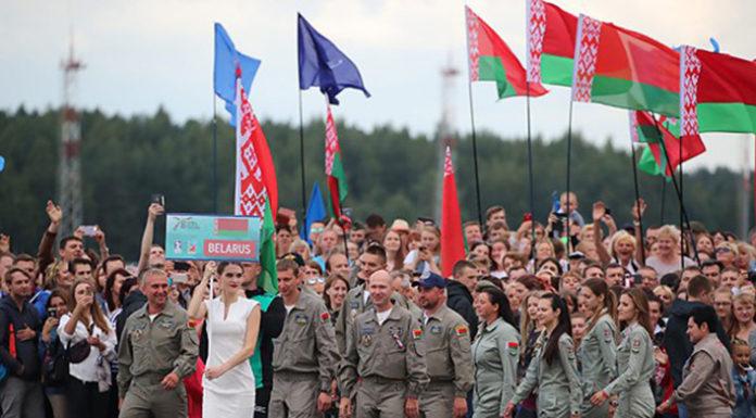 Белорусские вертолетчики «взяли» первое золото чемпионата мира