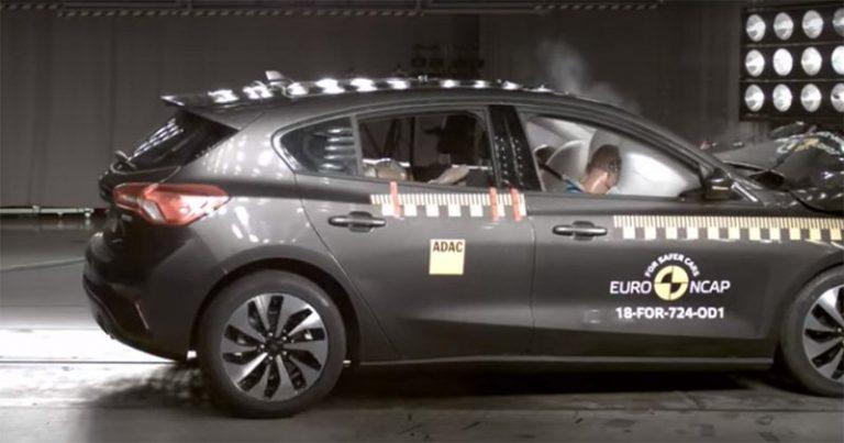 Опубликован краш-тест нового Ford Focus