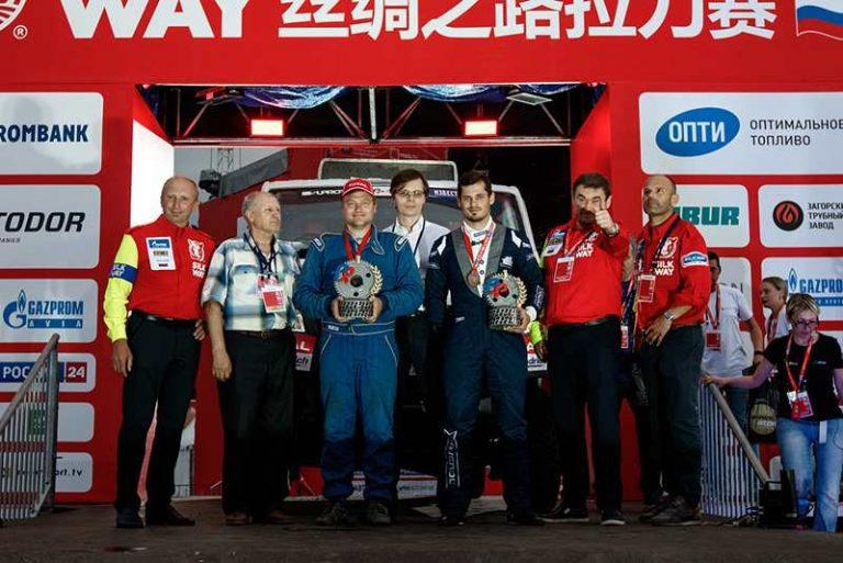 Финишировали участники чемпионата и кубка России по ралли-рейдам
