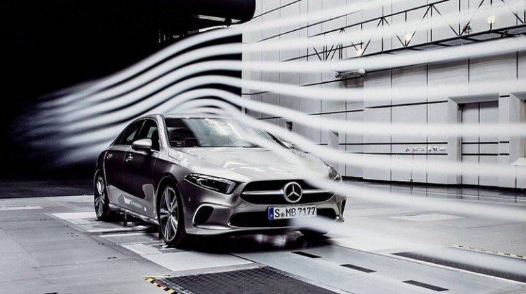Седан Mercedes А-класса побил рекорд аэродинамики