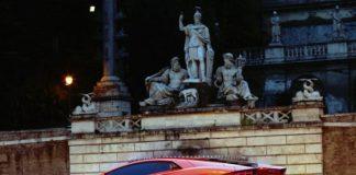 Римские полицейские конфисковали Lamborghini Aventador за превышение скорости