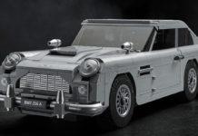 Компания LEGO выпустила копию автомобиля Джеймса Бонда