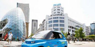 В Голландии создали автомобиль из льна и сахара