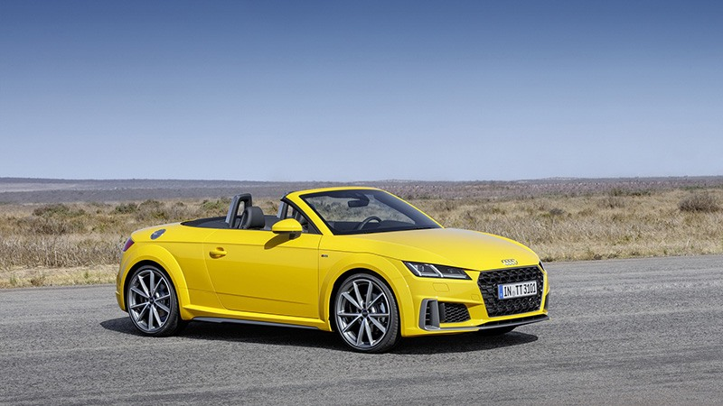 Audi представляет обновленное семейство моделей ТТ