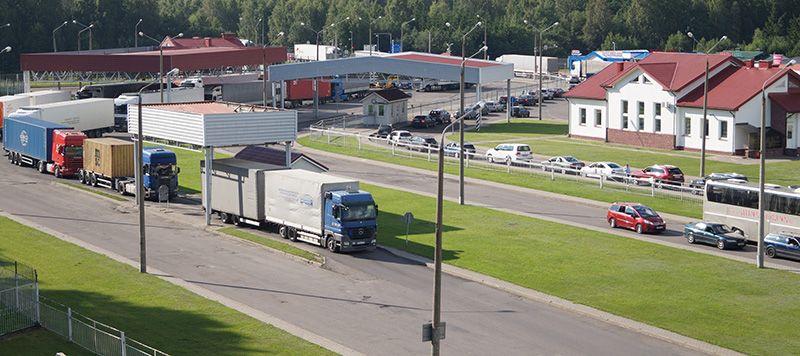 Каждый четвертый грузовик следует через «Брузги» или «Каменный Лог»