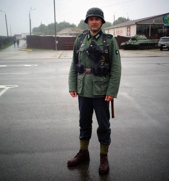 Военный униформист Андрей Леневич