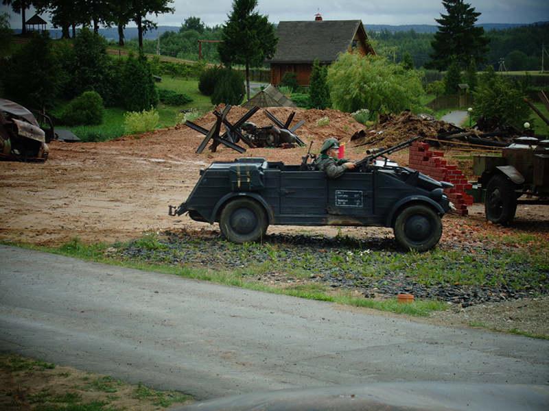 Автомобиль Kubelwagen и его экипаж