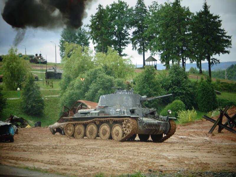 Немецкий танк Pz-38
