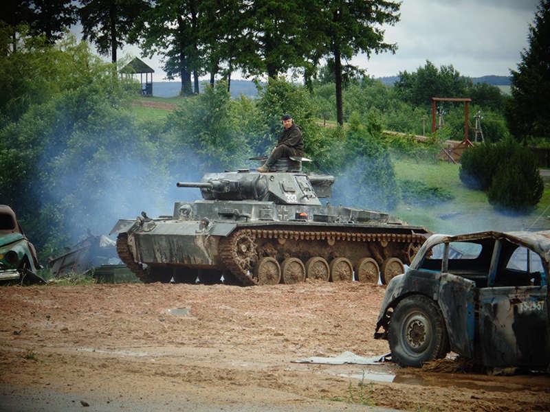 Немецкий танк Pz-III