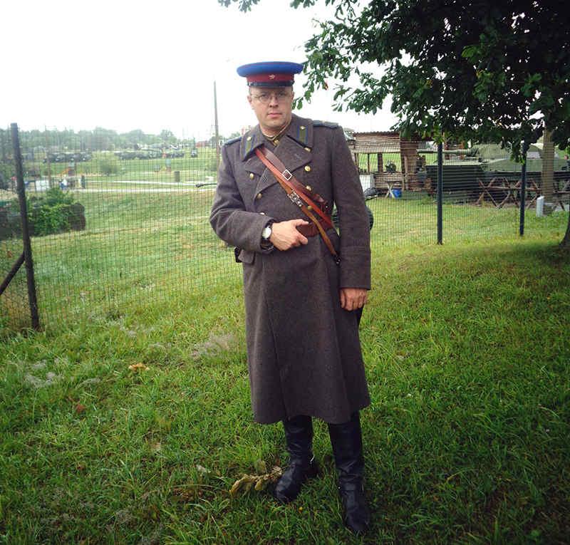 Военный униформист Андрей Оралин