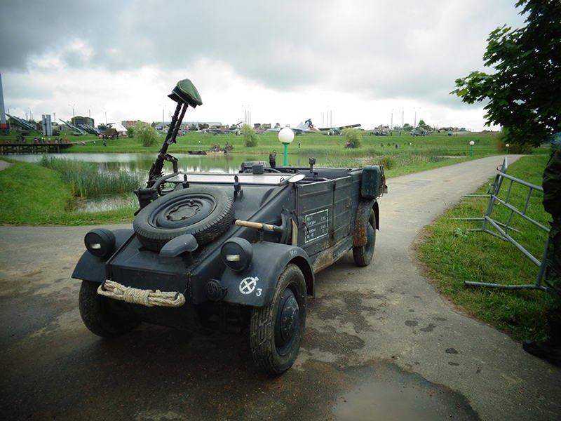 Автомобиль Kubelwagen готов к реконструкции