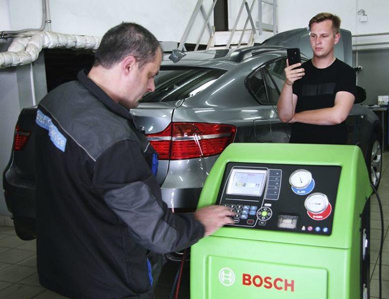 Новая СТО сети Бош Авто Сервис «1-й километр» открылась в Минске