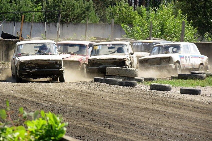 Легенды СССР на трековых гонках 2018