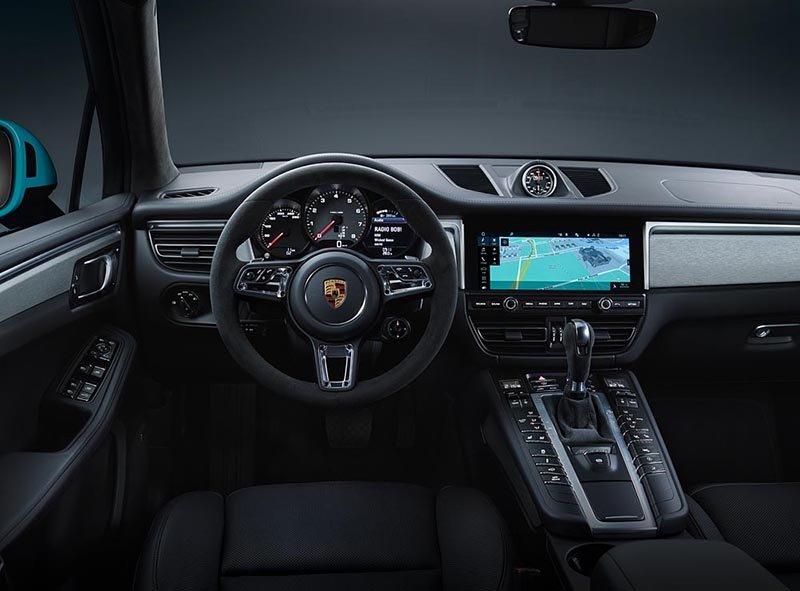 Porsche представляет новый Macan