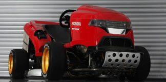 Honda построил газонокосилку с характеристиками спорткара