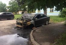 В Минске неизвестный поджег три автомобиля