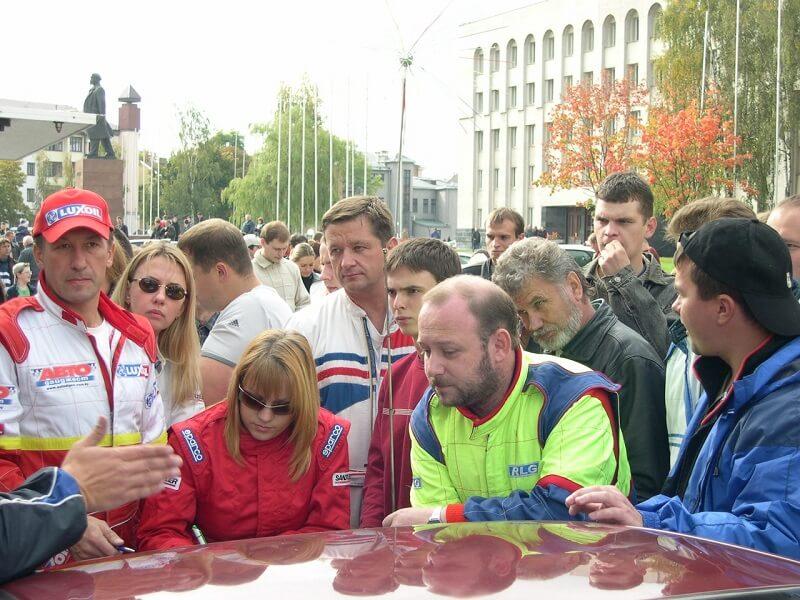 Этап акции в 2004 году в Гродно