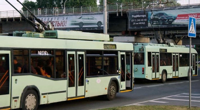 троллейбусы
