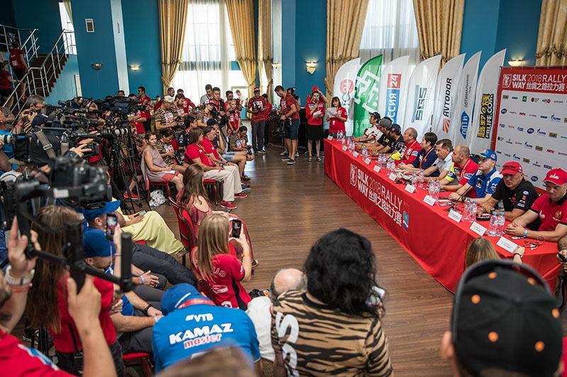 Прошла предстартовая пресс-конференция ралли «Шёлковый путь»