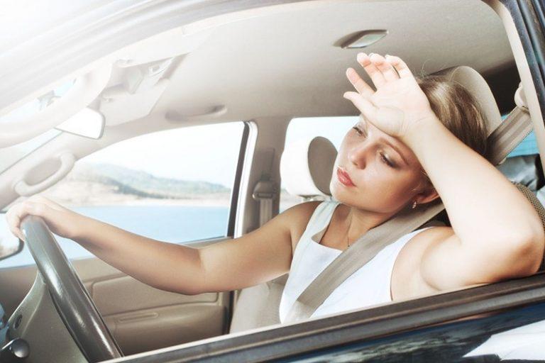 Рекомендации для водителей в жаркую погоду