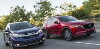 Honda CR-V и Mazda CX-5 в битве за симпатии американцев