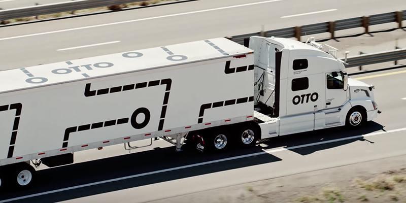UBER отказался от разработки грузовых беспилотников
